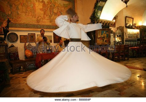 sufi-dancer-or-whirling-dervish-at-a-traditional-restaurant-damascus-bbbb9p