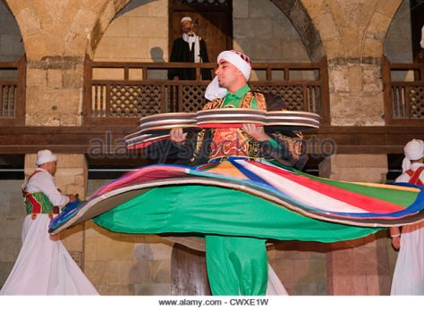 whirling dervish Sufi dancer