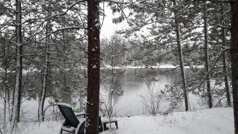 Winter Snowfall Bonnechere