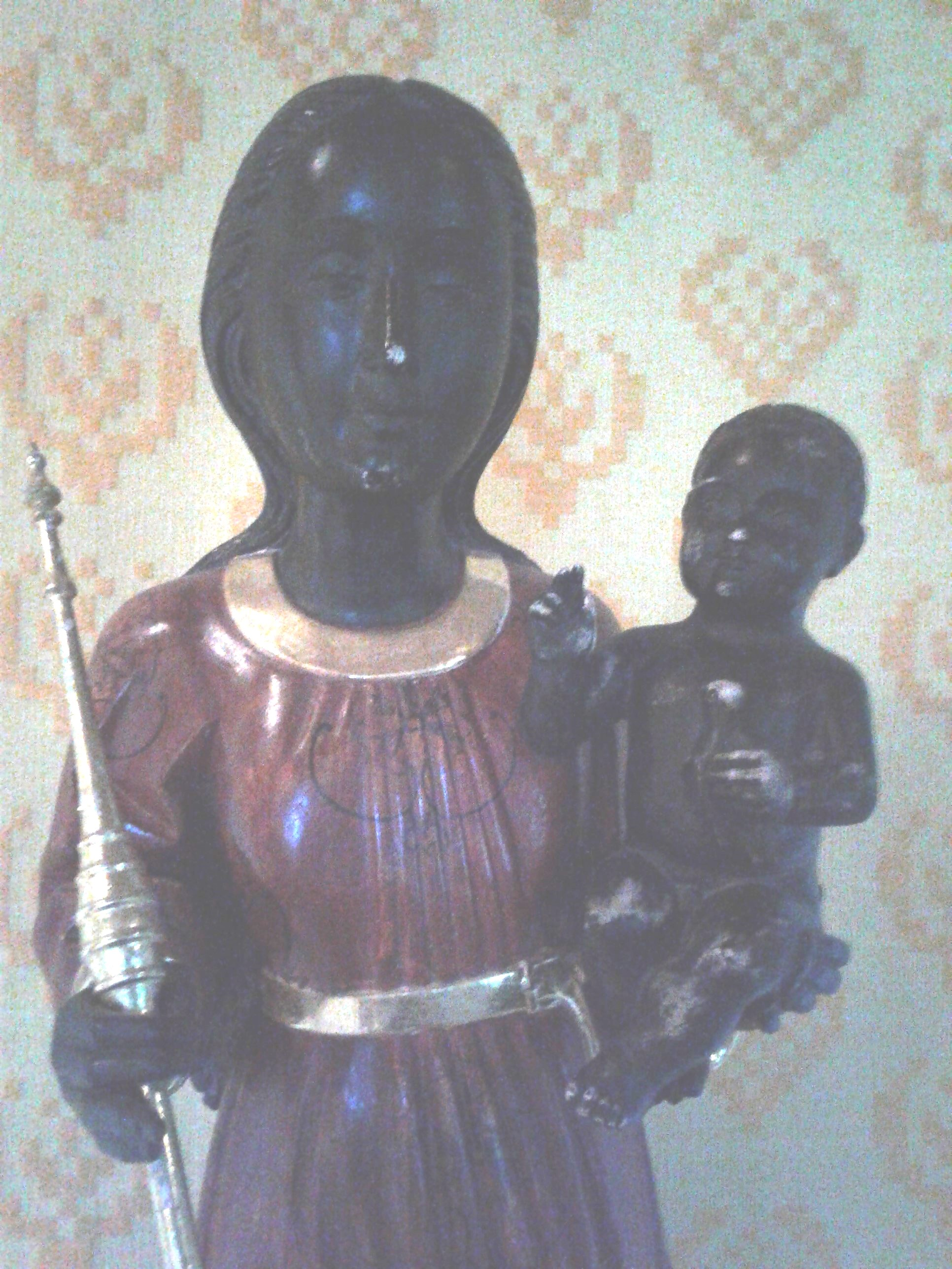 Black Madonna at Holy Wisdom Monastery (2)