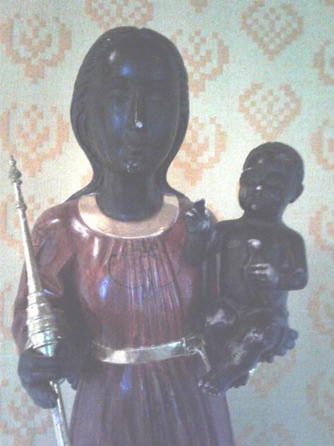 Black Madonna at Holy Wisdom Monastery (2)