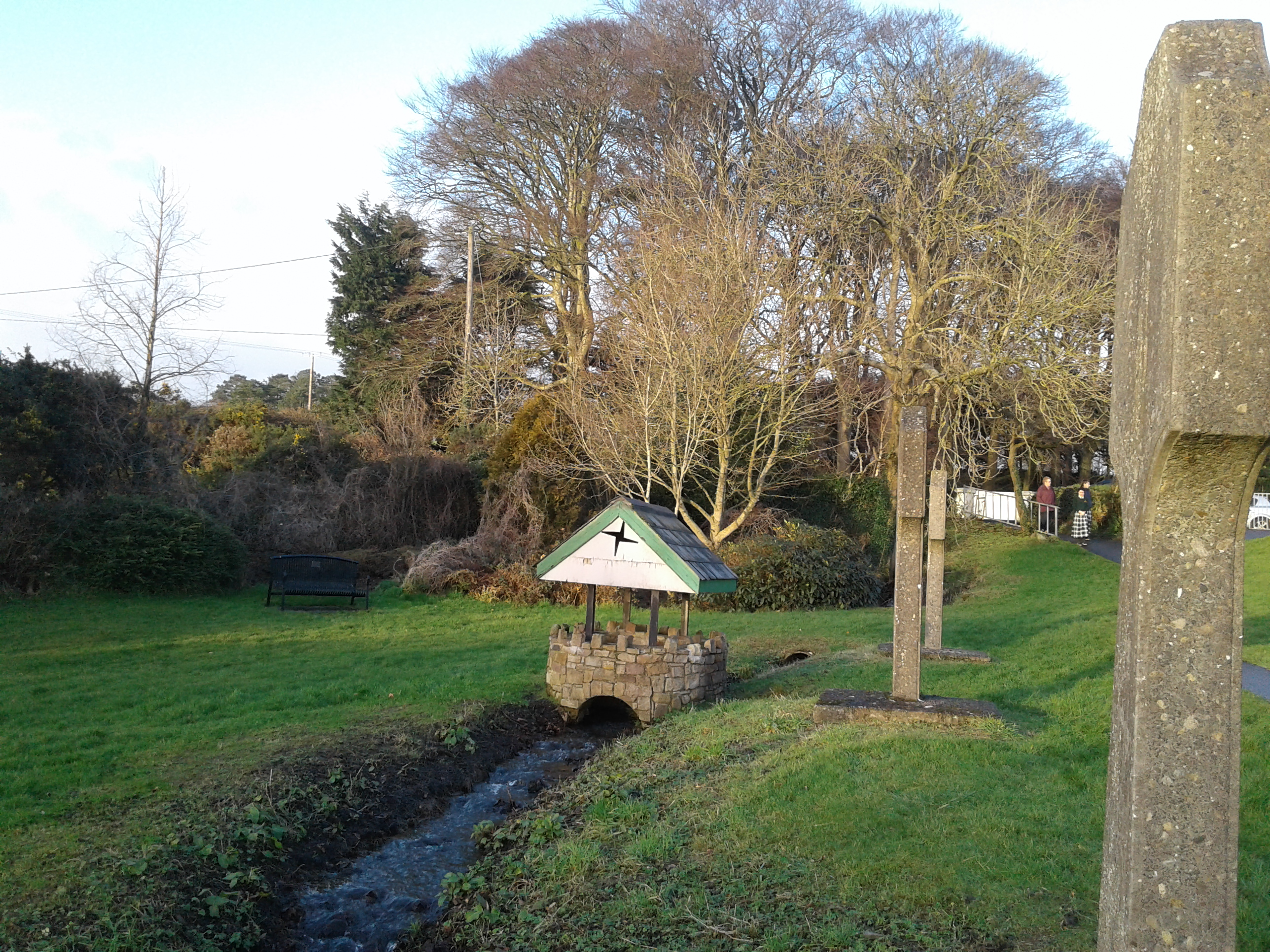 20180201 faughart well and stream